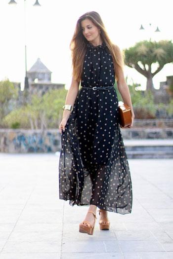 صور فساتين صيفية طويلة , اجمل الفساتين الصيفيه الطويله