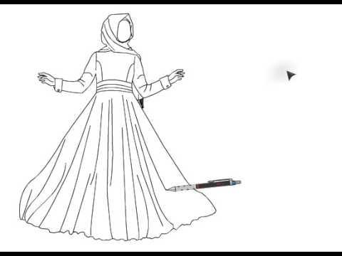بالصور رسم فساتين زفاف , طريقه رسم فستان الزفاف 12611 10