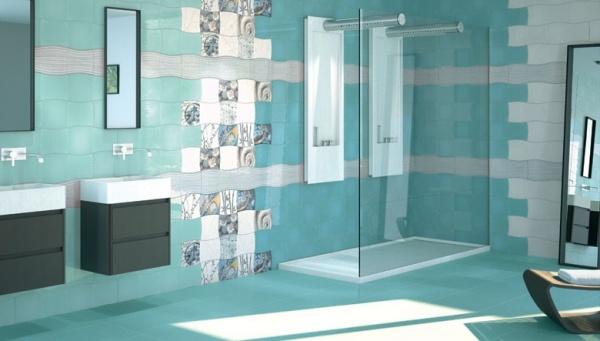 صورة الوان سيراميك حمامات , الوان رائعه جدا لسيراميك الحمامات