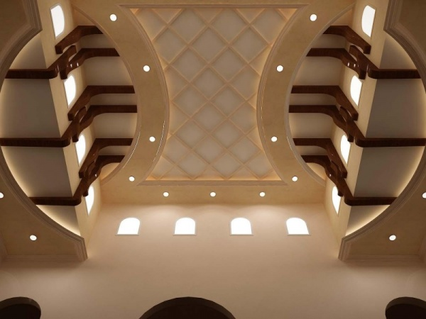 بالصور ديكورات اسقف جبسية , اجمل الديكورات الجبسيه الرائعه 12659 4