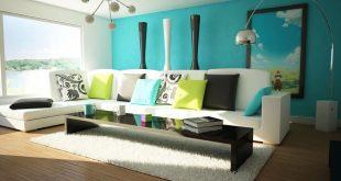 صورة الوان الجدران لغرف الجلوس , اجمل الوان للجدران