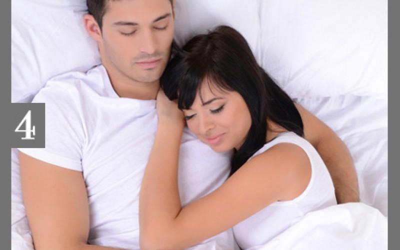 بالصور افضل طريقه للنوم في حضن الزوج , نوم الزوجين ممع بعضهما لبعض 12723 1