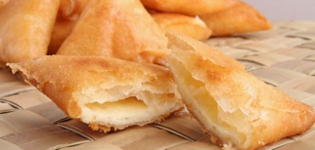 صور حشوه السمبوسه بالجبنه , طريقه سهله لعمل سمبوسه بالجبن