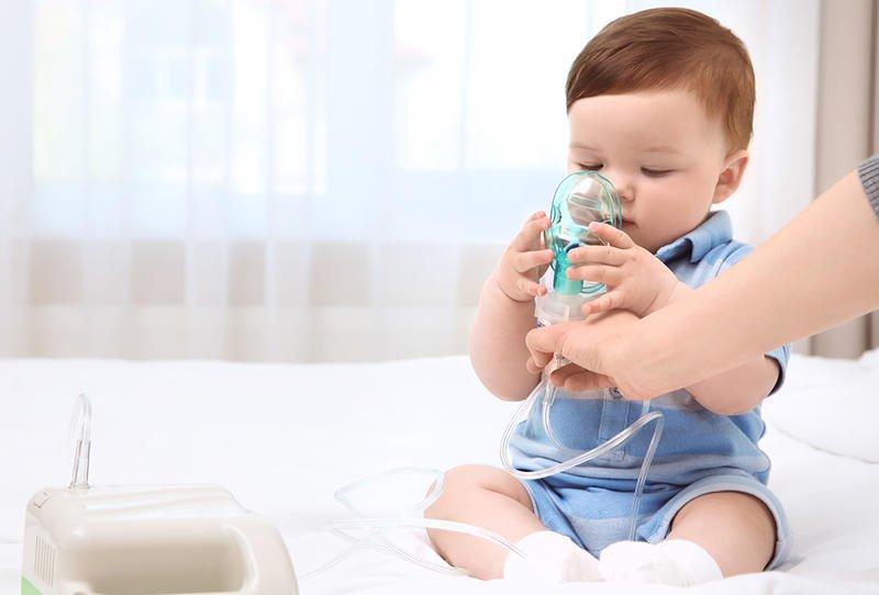 صورة علاج البلغم للرضع , طريقه لعلاج البلغم للاطفال