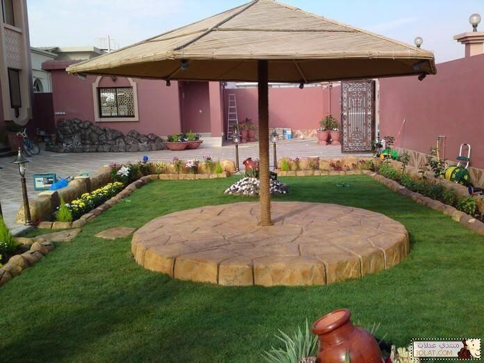 صورة تنسيق حدائق منازل بالرياض , حدائق رائعه وجميله جدا بالرياض وتنسيقات مختلفه
