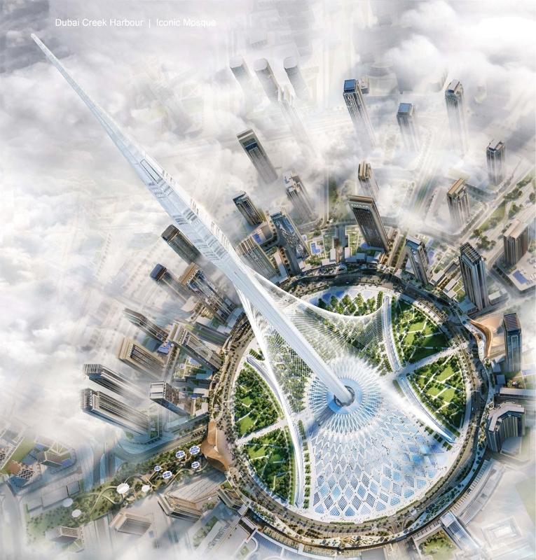 صورة برج خور دبي , ما لا تعرفه عن برج خور دبي