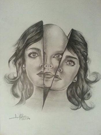 بالصور رسومات بالرصاص فيس بوك , روائع الفن المتنوع والسومات المختلفه 12832 2