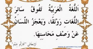 صور مقدمة بحث في اللغة العربية , اللغه العربيه وما بها من قواعد