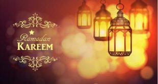 صورة رسائل رمضان للحبيب , احدث رسائل معايدة رمضانية
