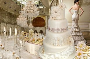 صورة صور كيك اعراس , اجمل صور لتورتة حفلات الزفاف