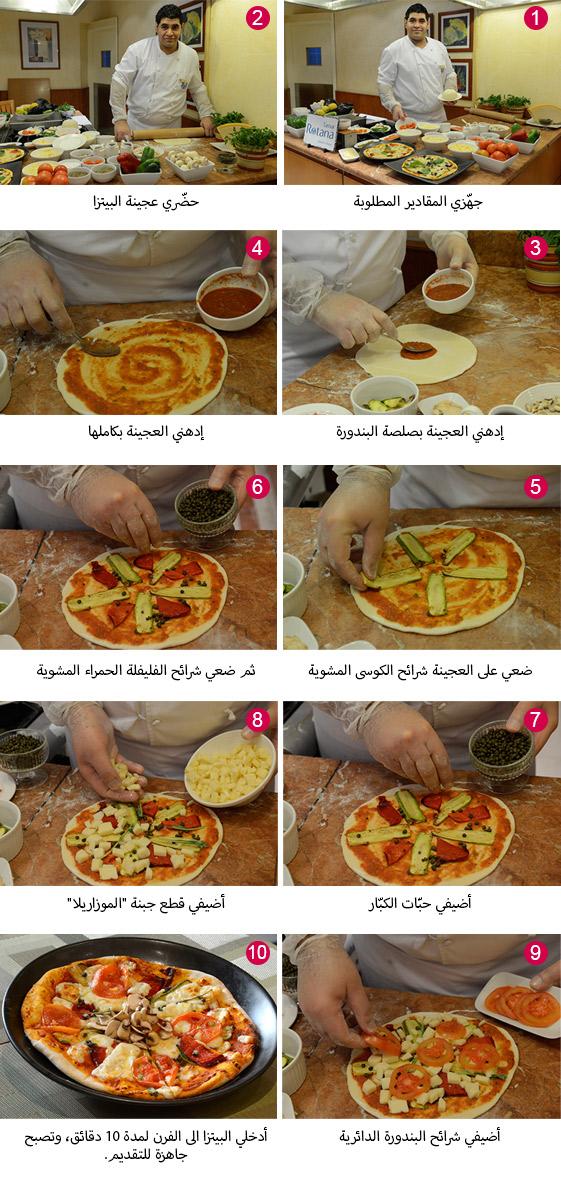 طريقة عمل البيتزا بالصور خطوة خطوة افضل الطرق لعمل البيتزا بالصور صور بنات