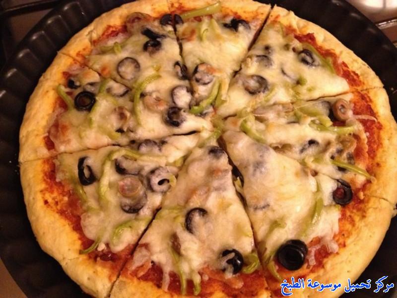 صورة طريقة عمل البيتزا بالصور خطوة خطوة , افضل الطرق لعمل البيتزا بالصور 6457 3