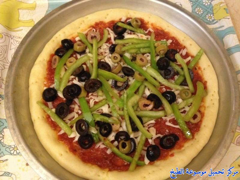 صورة طريقة عمل البيتزا بالصور خطوة خطوة , افضل الطرق لعمل البيتزا بالصور 6457 7