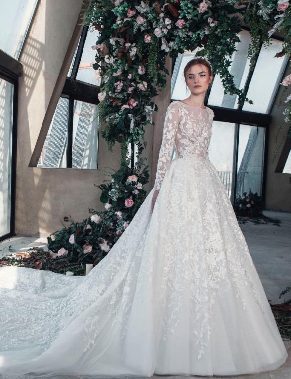 صورة صور فساتين زفاف , اجمل تصميمات فستان ليلة العمر