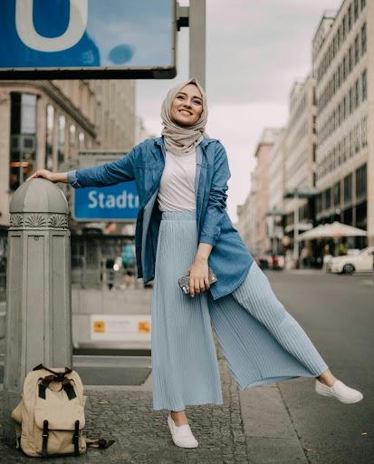 صورة ملابس محجبات كاجوال 6195 3