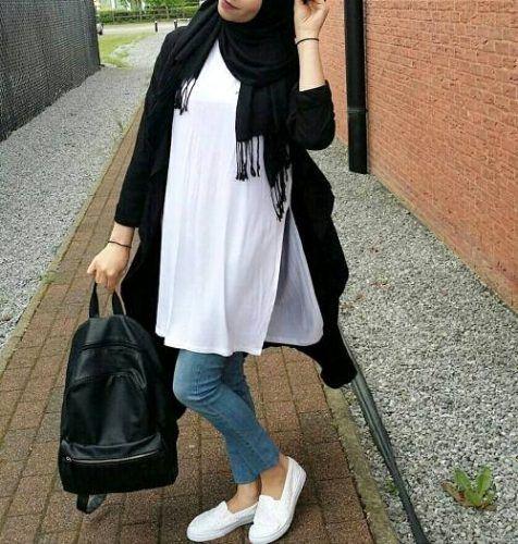 صورة ملابس محجبات كاجوال 6195