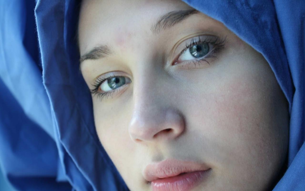 صورة اجمل بنات محجبات بدون مكياج, نزلت بدون مكياج وحافظت علي بشرتي 2378 4