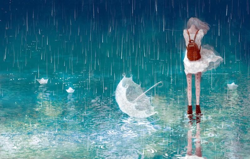 صورة حلم المطر الخفيف , تفسير رؤية المطر الخفيف بالمنام 12419
